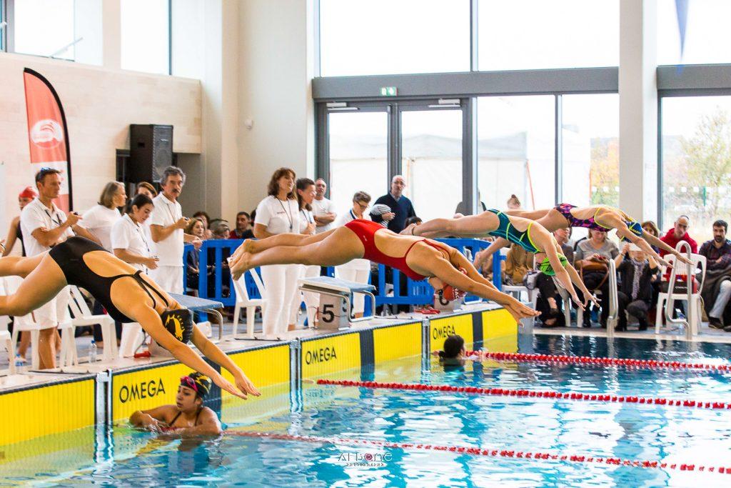 Le Meeting X'eau Grand Cognac Les Sportives, une compétition de natation pas comme les autres