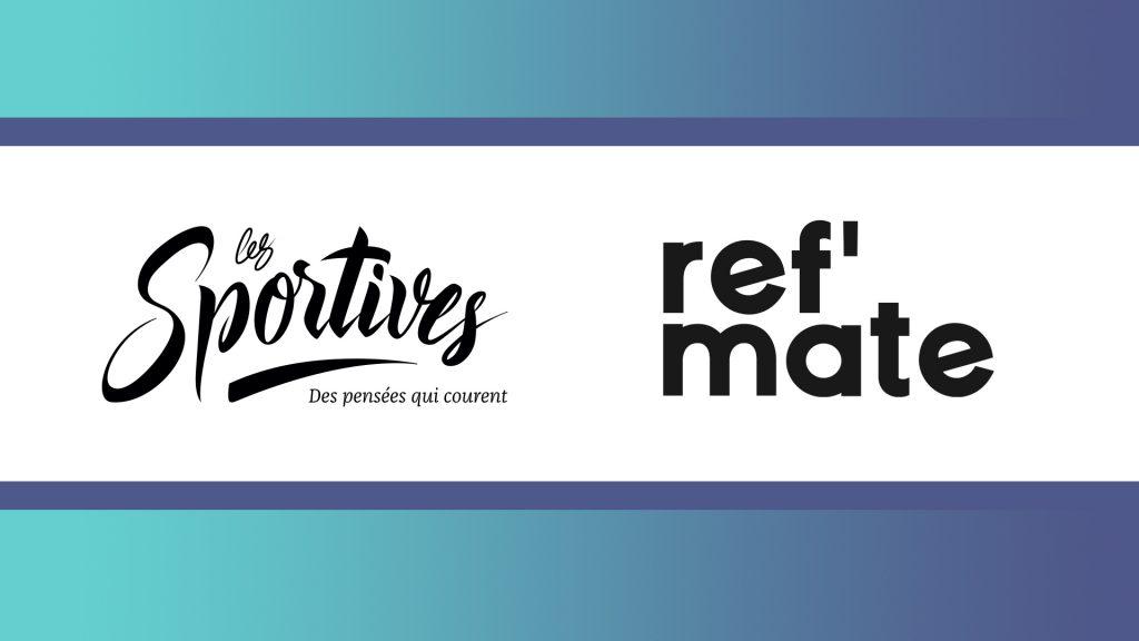 Bannière partenariat Les Sportive et Ref'mate