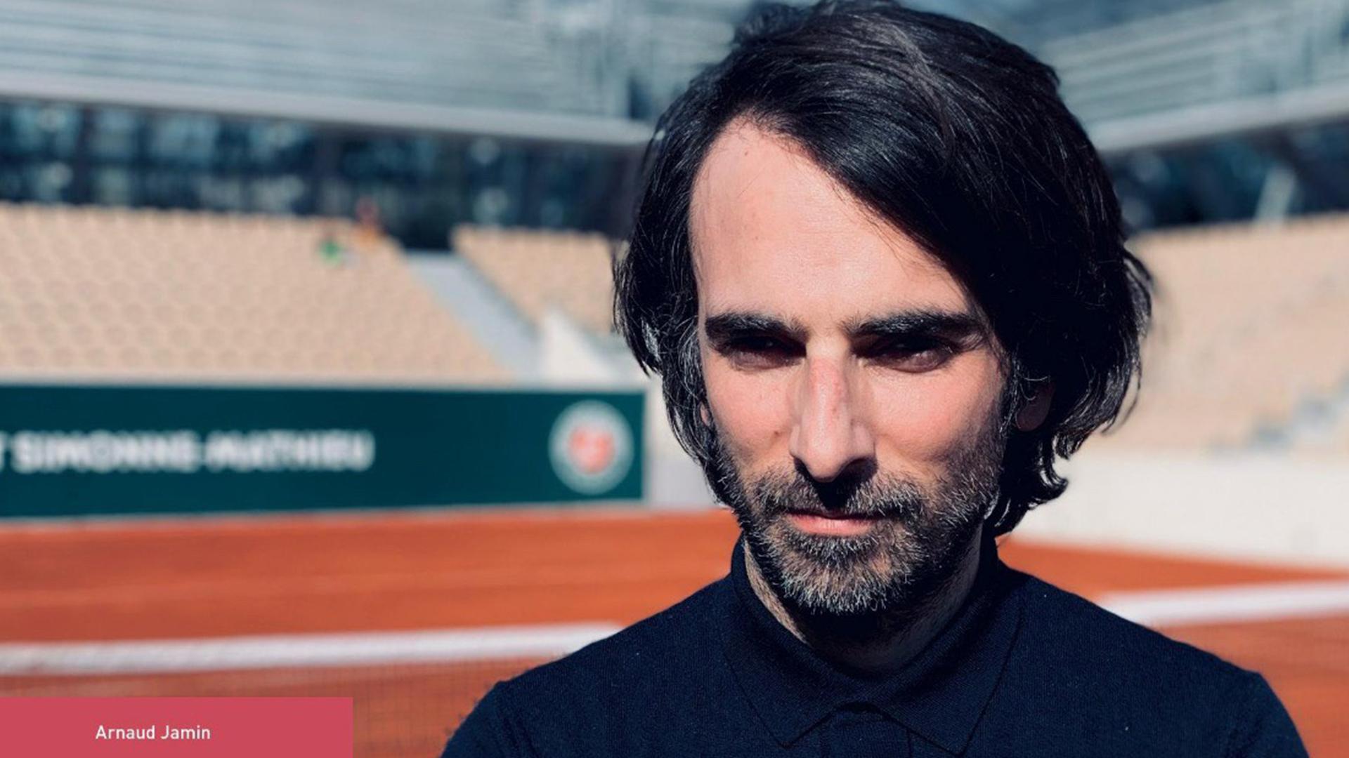 Arnaud Jamin portrait auteur de«Le caprice Hingis» aux éditions Salto