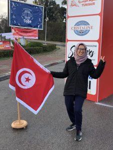 Amal Riahi La Tunisienne Gazelle Run 2020