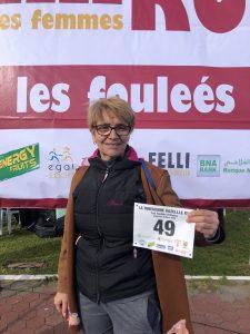 Khenatelaa Norah participante à La Tunisienne Gazelle Run 2020