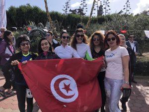 Jeanette participante sur La Tunisienne Gazelle Run 2020