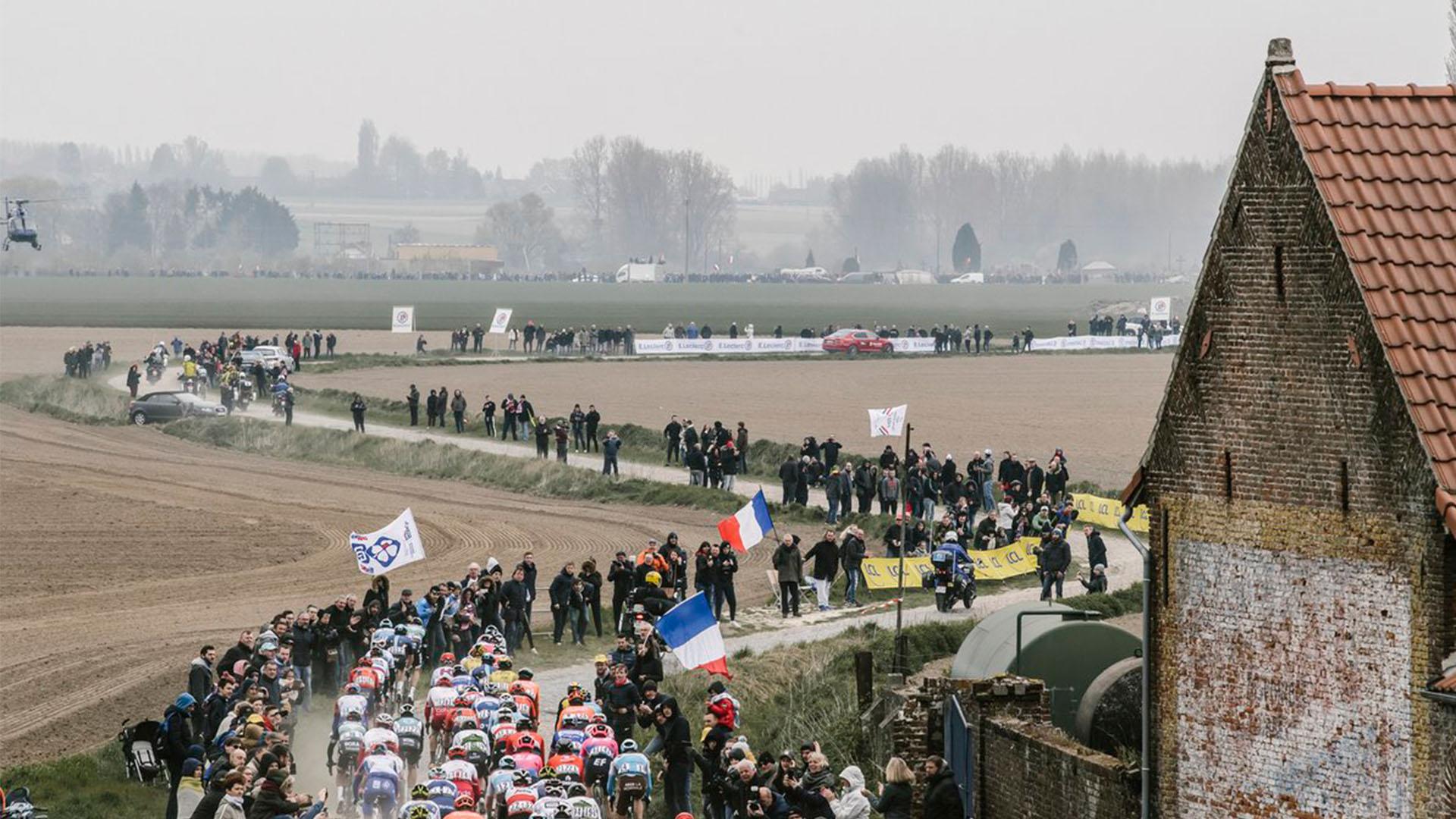 Paris Roubaix féminin en octobre 2020