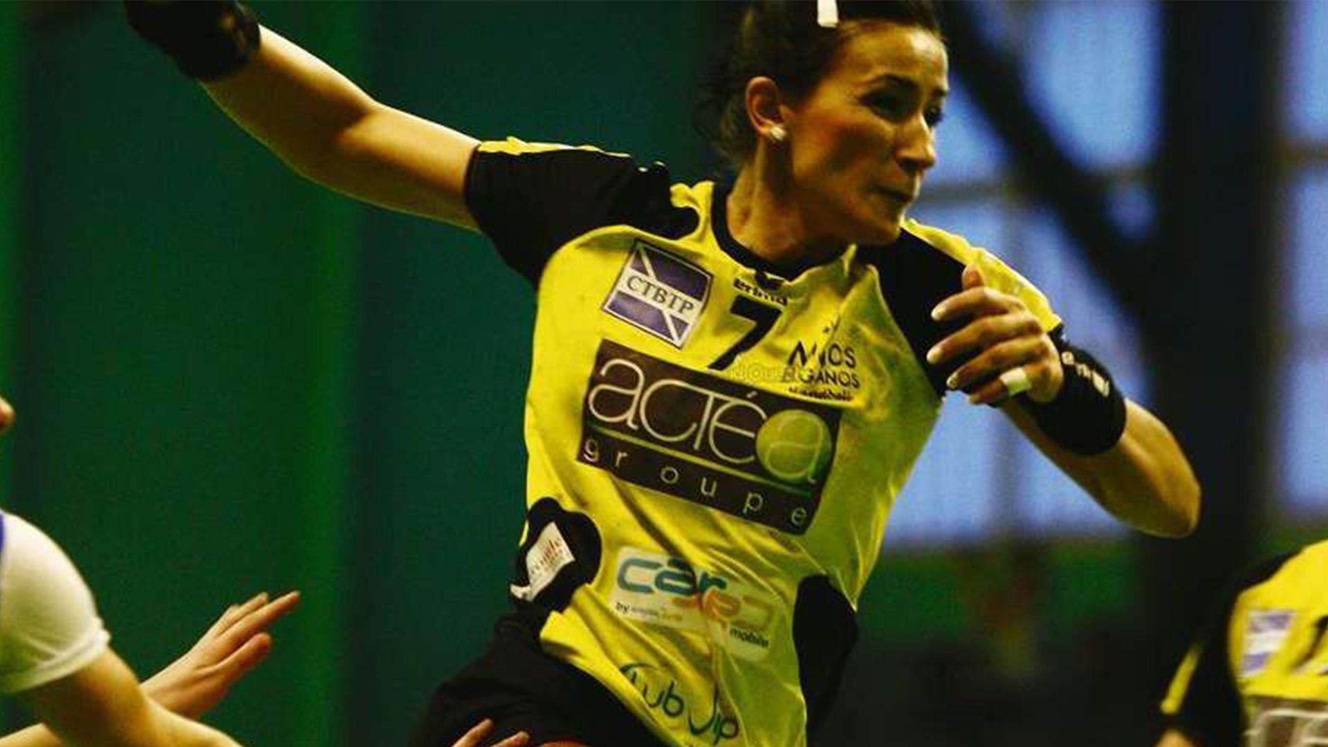 Maria jacob reconversion handball au bâtiment