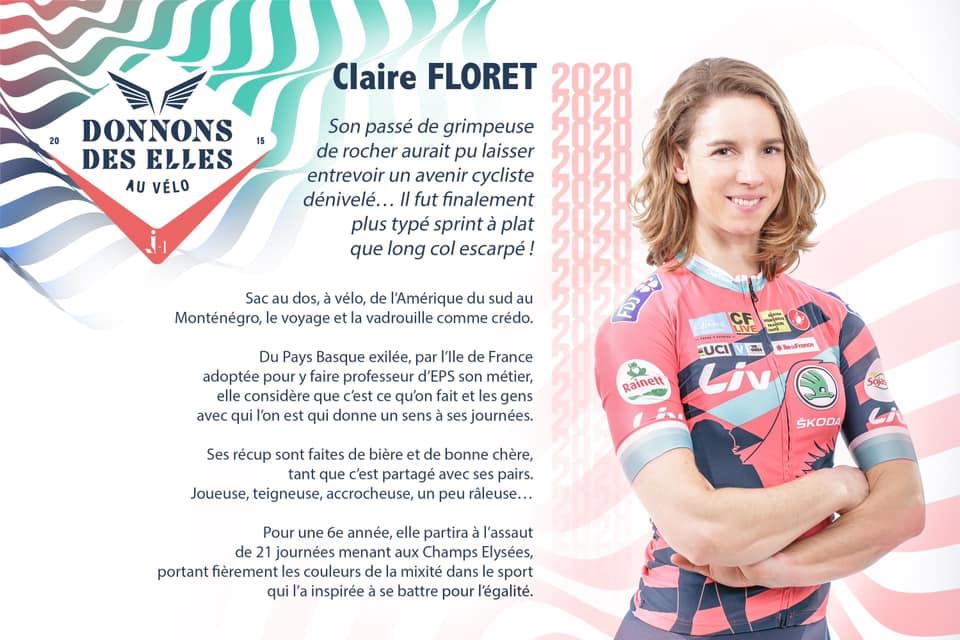Claire Floret donnons des elles au vélo