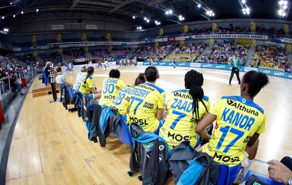 Banc messin Metz Handball Copyright : FFHandball S.Pillaud