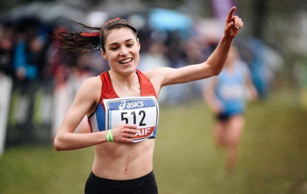Mathilde Sénéchal Championnat de France de Cross 2015
