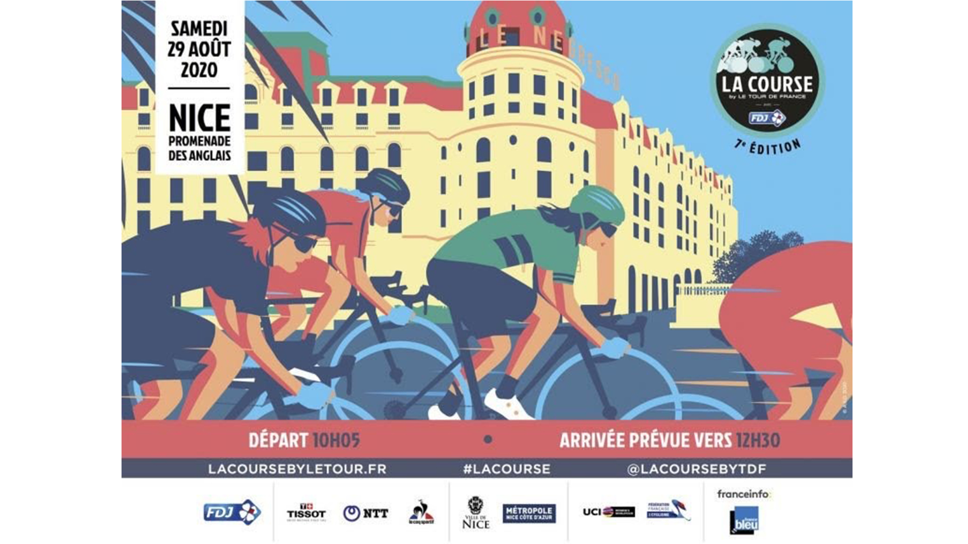 7eme edition La Course By Le Tour