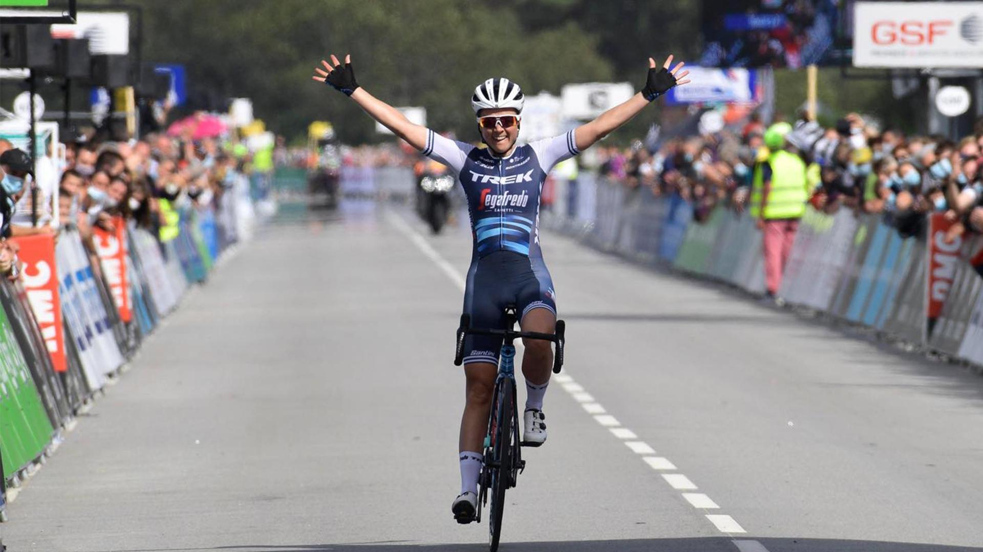 Audrey Cordon-Ragot a été sacrée championne de France de cyclisme sur route.