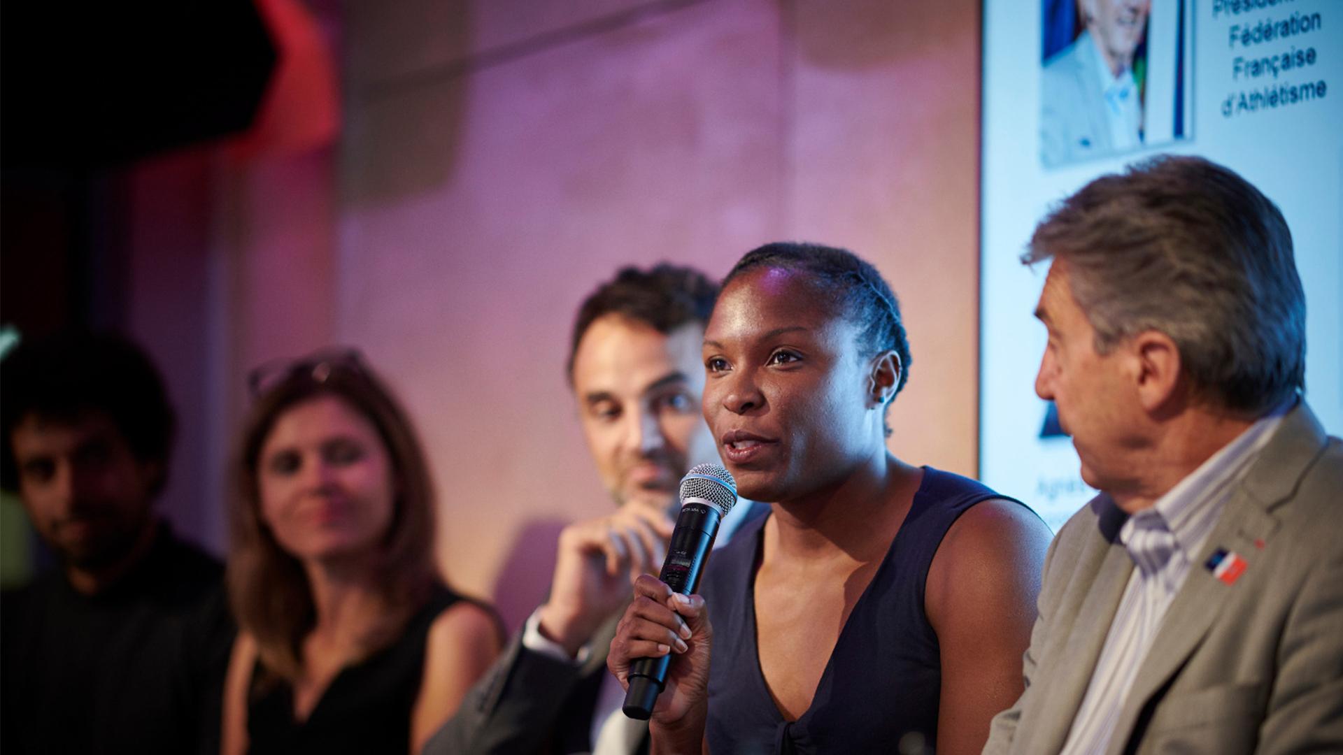 Ayodele, athlète de haut-niveau et élue à la Mairie de Paris 18e