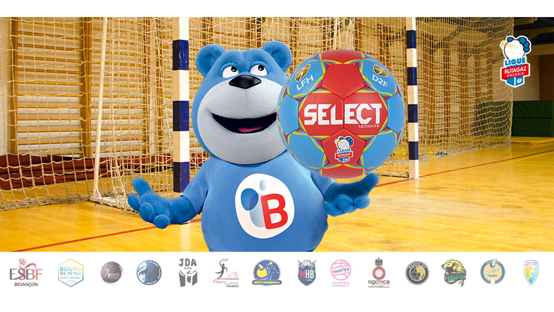 select sport renouvelle partenariat LFH
