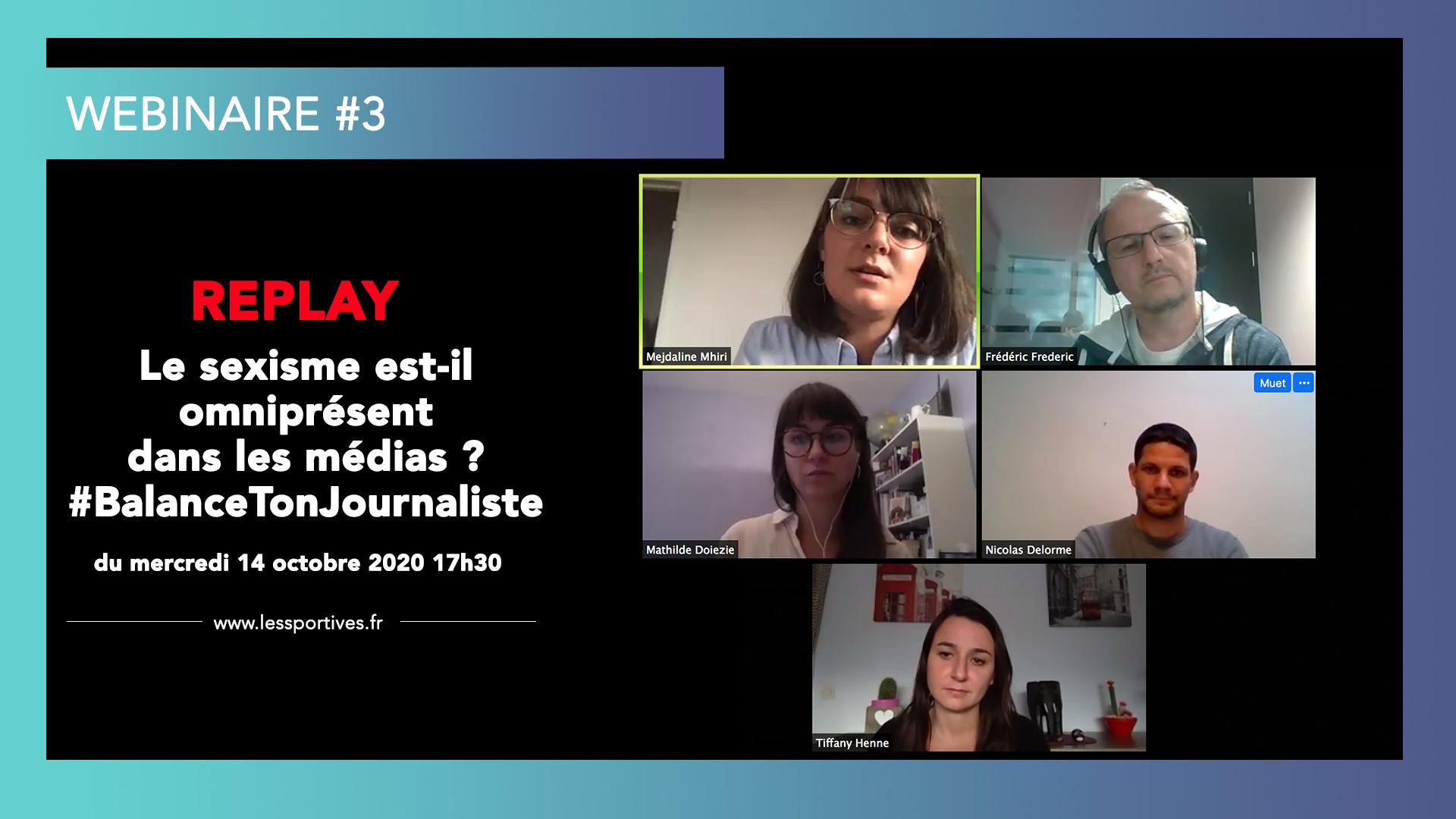 Webinaire 3 sexisme medias