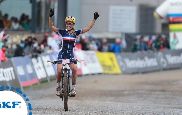 Pauline Ferrand-Prévôt, championne du monde de cross-country