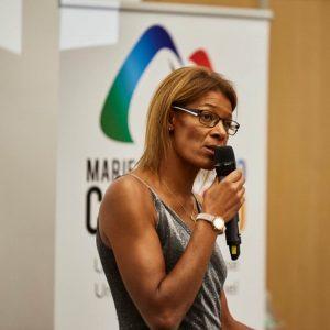 Marie-Christine Cazier candidate présidence FFA