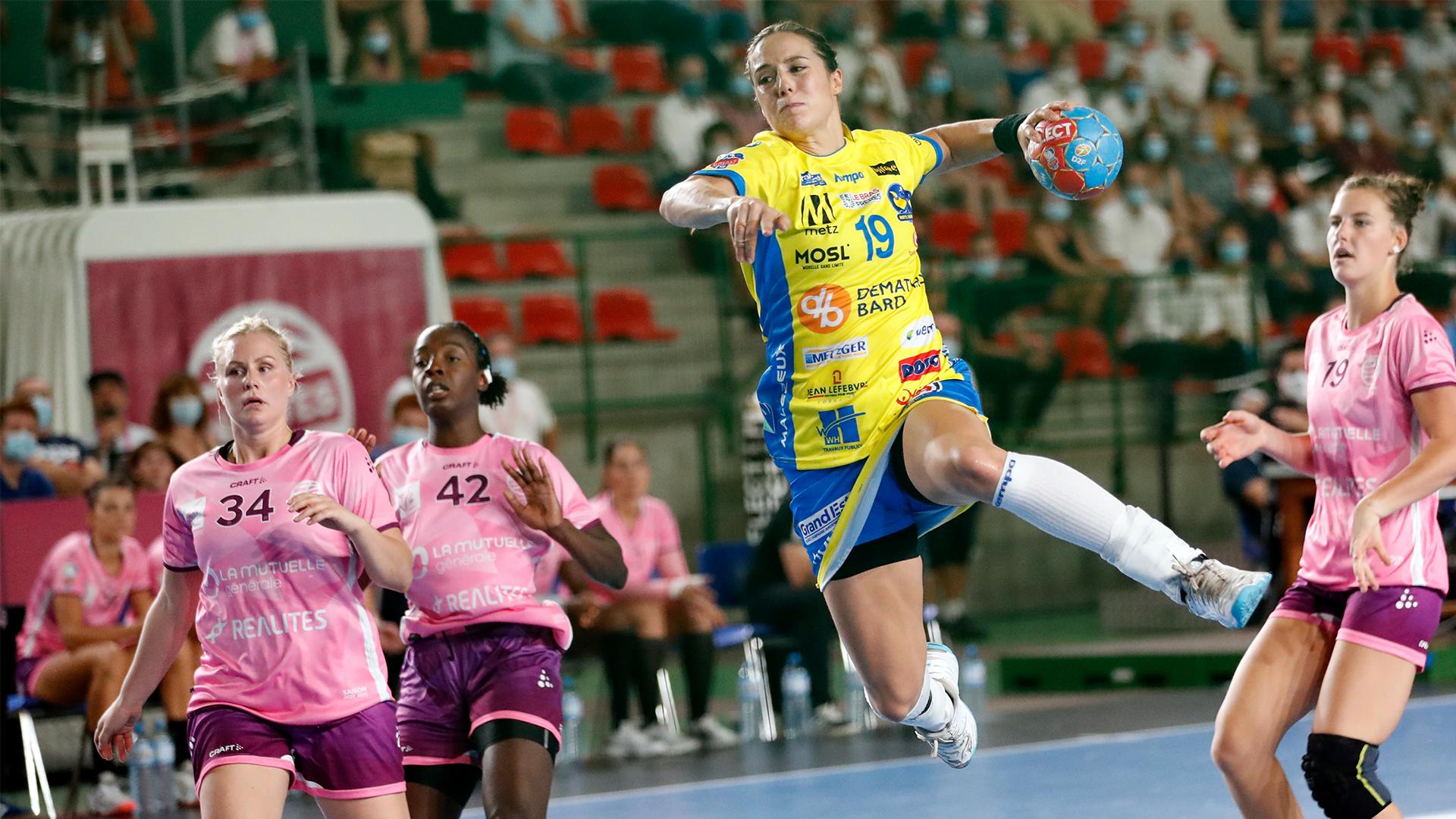 Burgaard Louise Metz Handball. Crédit photos : Sportissimo-Pillaud