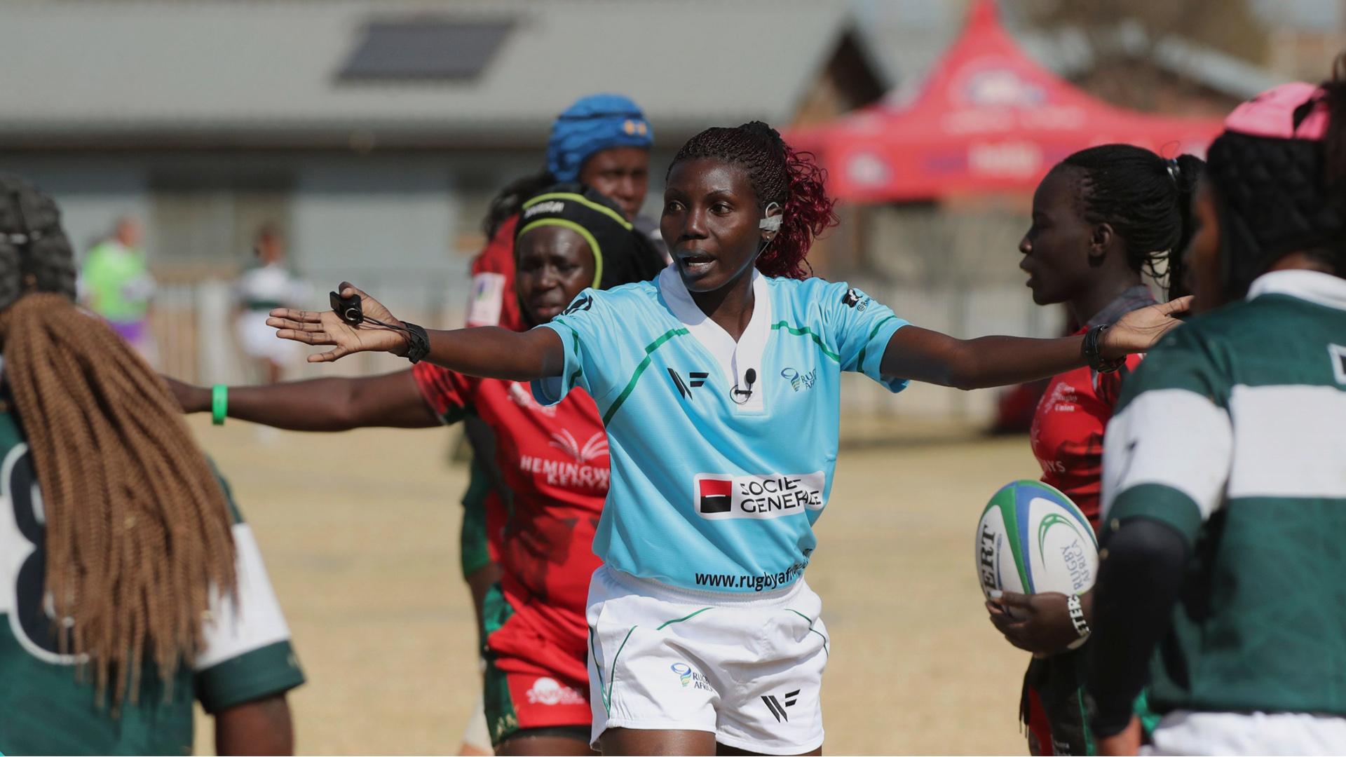 femmes dirigeantes afrique rugby