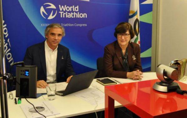 Marisol Casado réelue présidente du triathlon mondiale