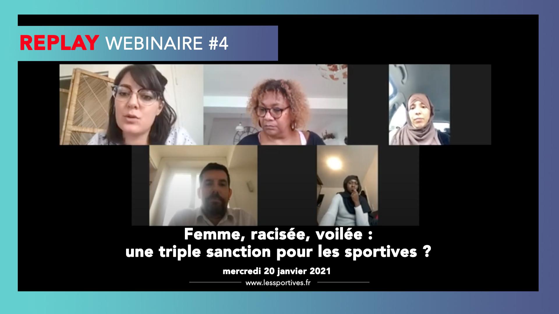 Bilan webinaire #4 Les Sportives