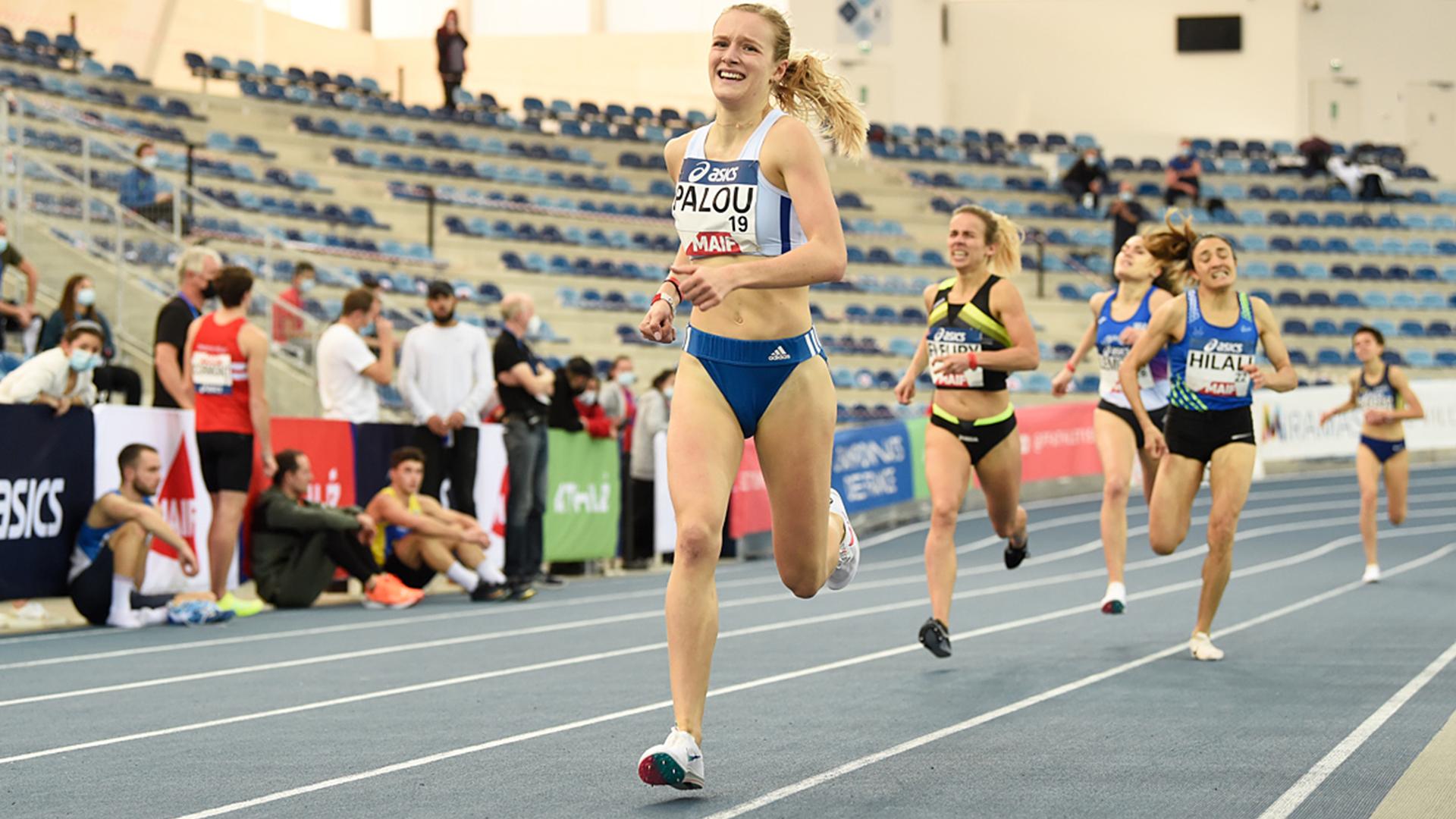 Claire Palou championne de France Elite en salle du 1500 m