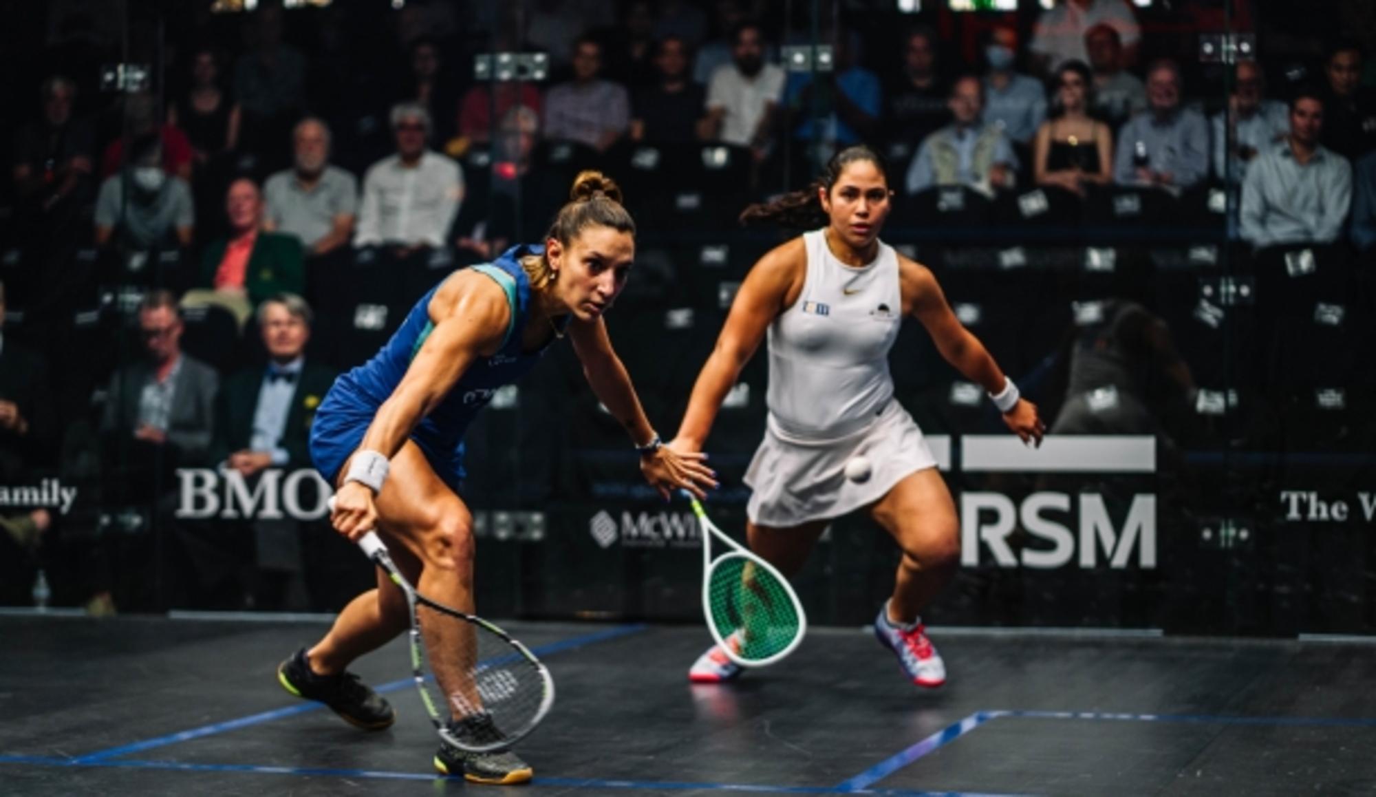Camille Serme s'est imposée lors de la demi-finale des Championnats du monde de squash