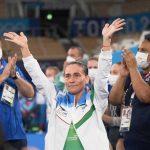 Oksana Chusovitina a pris part à ses derniers Jeux Olympiques