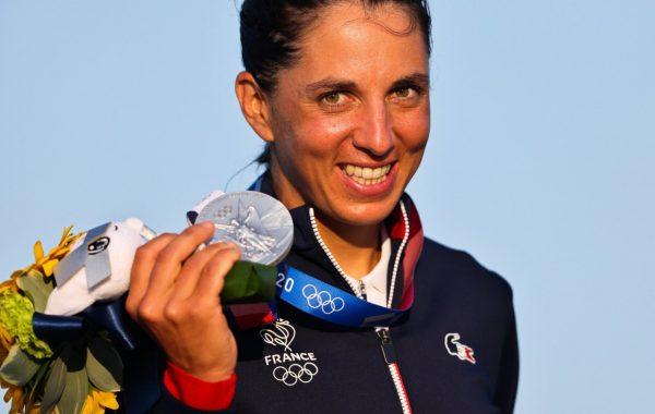 Charline Picon médaillée d'argen