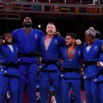 L'équipe de France de judo est championne olympique