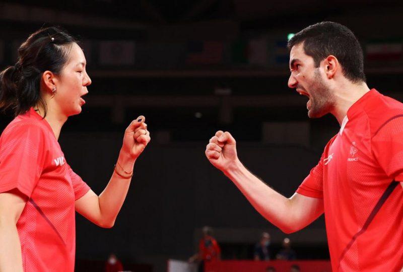 Yuan et Lebesson aux Jeux Olympiques