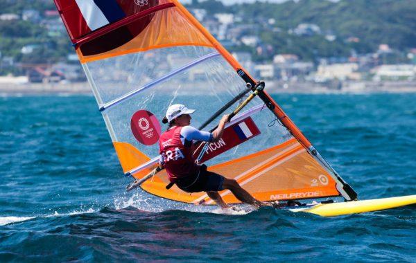 Charline Picon aux Jeux Olympiques