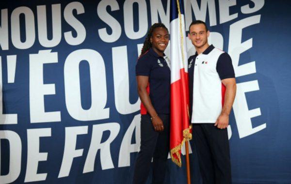 Duo mixte de porte-drapeaux pour la France aux Jeux Olympiques de Tokyo
