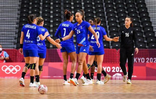 Les Bleues du handball quasiment éliminées des Jeux olympiques