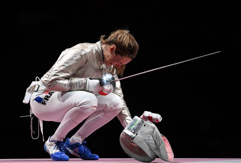 Manon Brunet médaille de bronze olympique