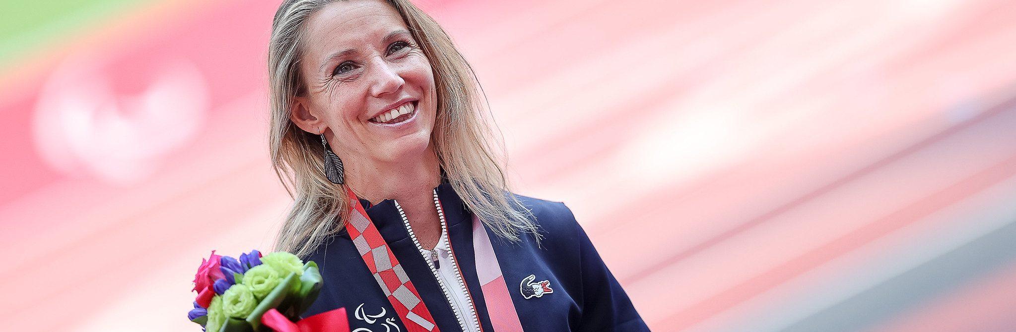 Marie-Amélie Le Fur s'est emparée de la médaille d'argent
