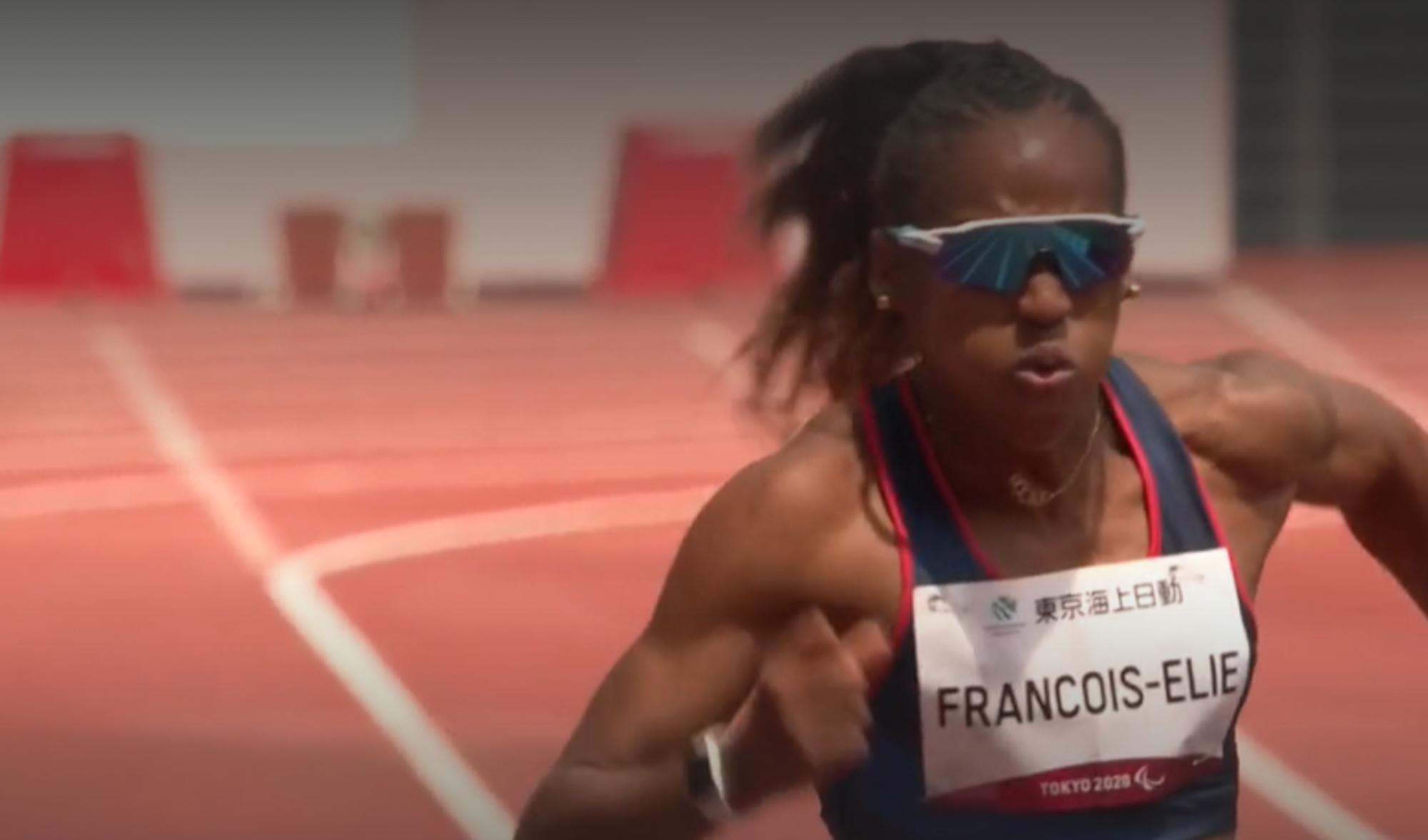 Mandy François-Elie a décroché la médaille de bronze du 200m aux Jeux paralympiques de tokyo