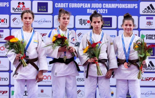 Pauline Cuq est devenue championne d'Europe