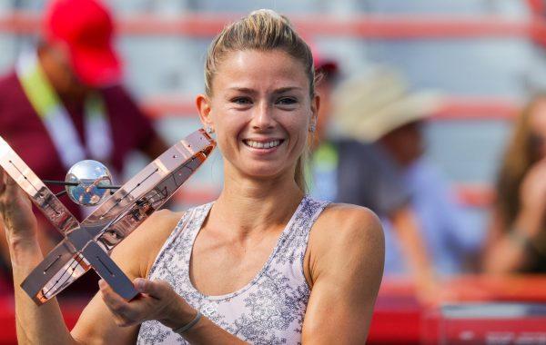 Camila Giorgi victorieuse de l'Open du Canada