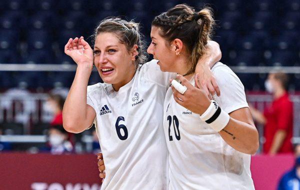 L'équipe de France de handball est en finale des Jeux Olympiques.