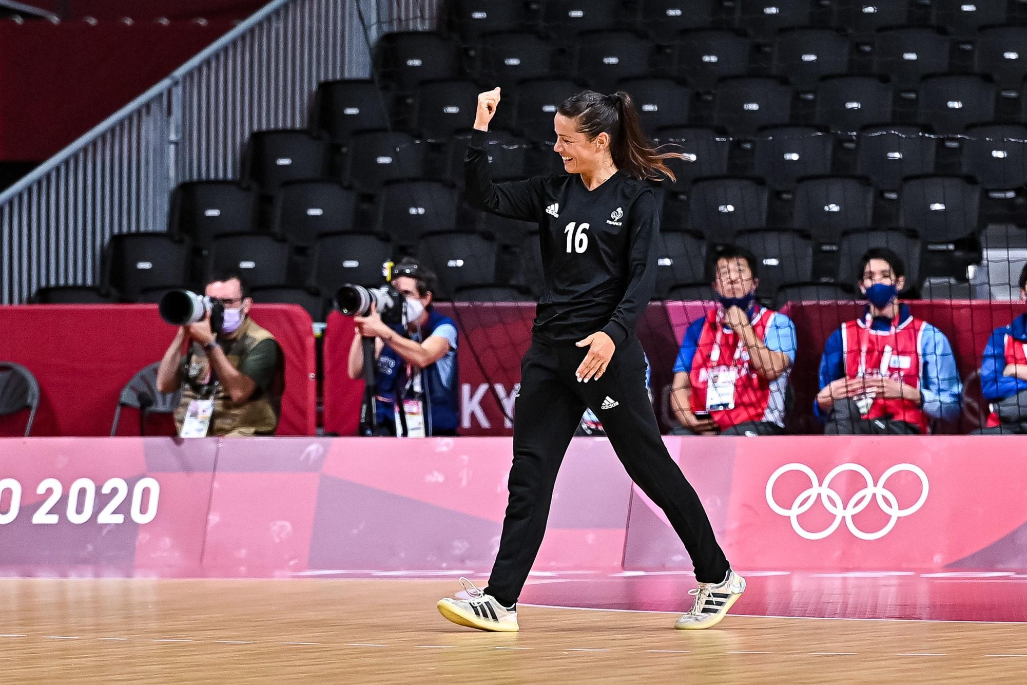 L'équipe de France de handball a ramporté sa demi-finale des Jeux Olympiques face à la Suède.