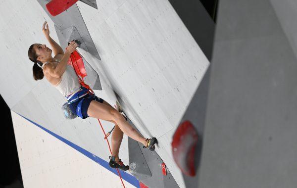 Escalade aux Jeux olympiques