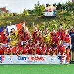 L'équipe de France de Hockey sur gazon a décroché la médaille d'argent de l'euro II