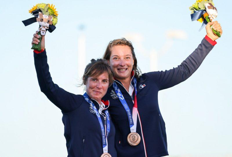 Lecointre et Retornaz en bronze aux Jeux olympiques