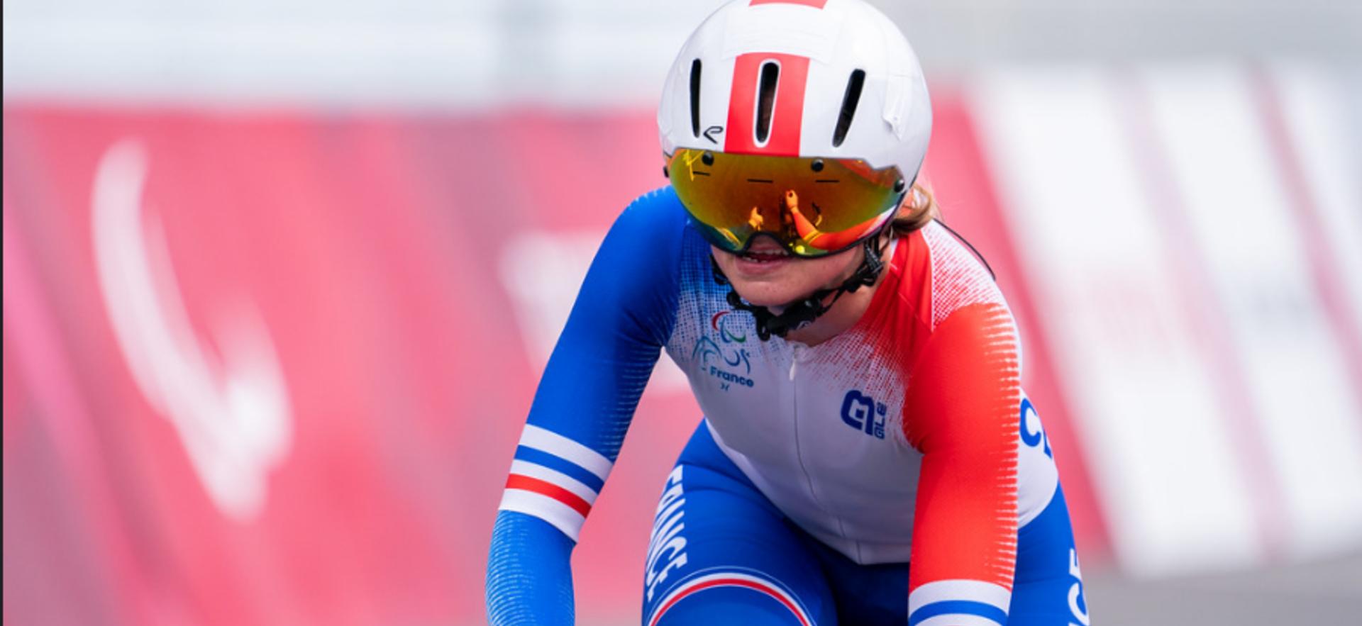 Katell Alençon n'est pas parvenue à monter sur le podium des Jeux paralympiques.
