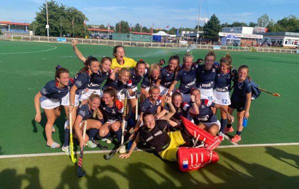 L'équipe de France féminine de hockey sur gazon est en demi-finale du championnat d'Europe B