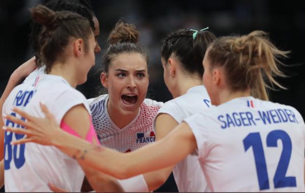 Direction les quarts de finales pour l'équipe de France de volley à l'EuroVolley