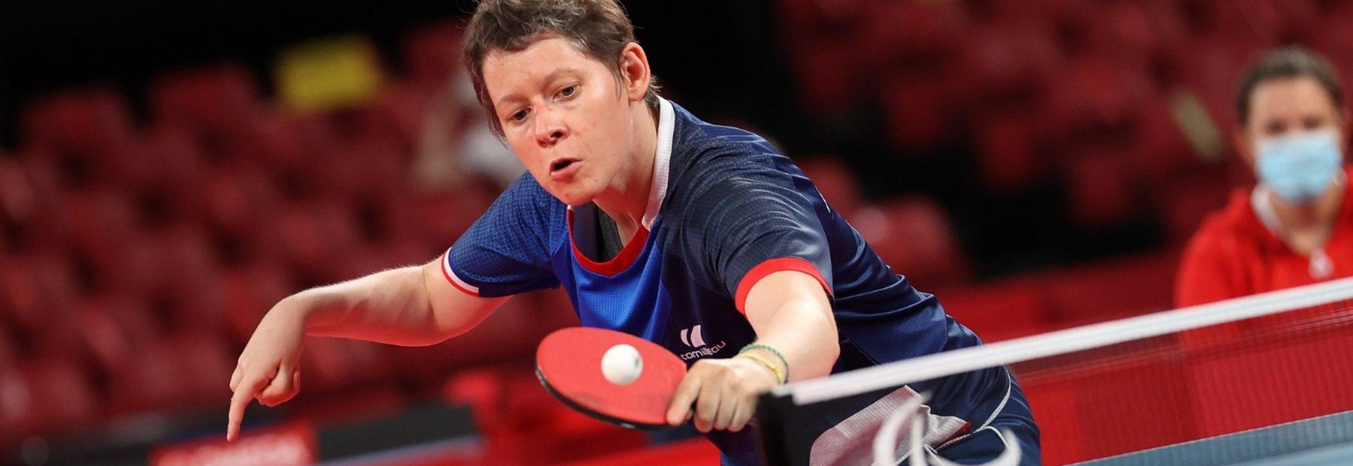 Deux Françaises sont allées chercher la médaille de bronze cette nuit en tennis de table.