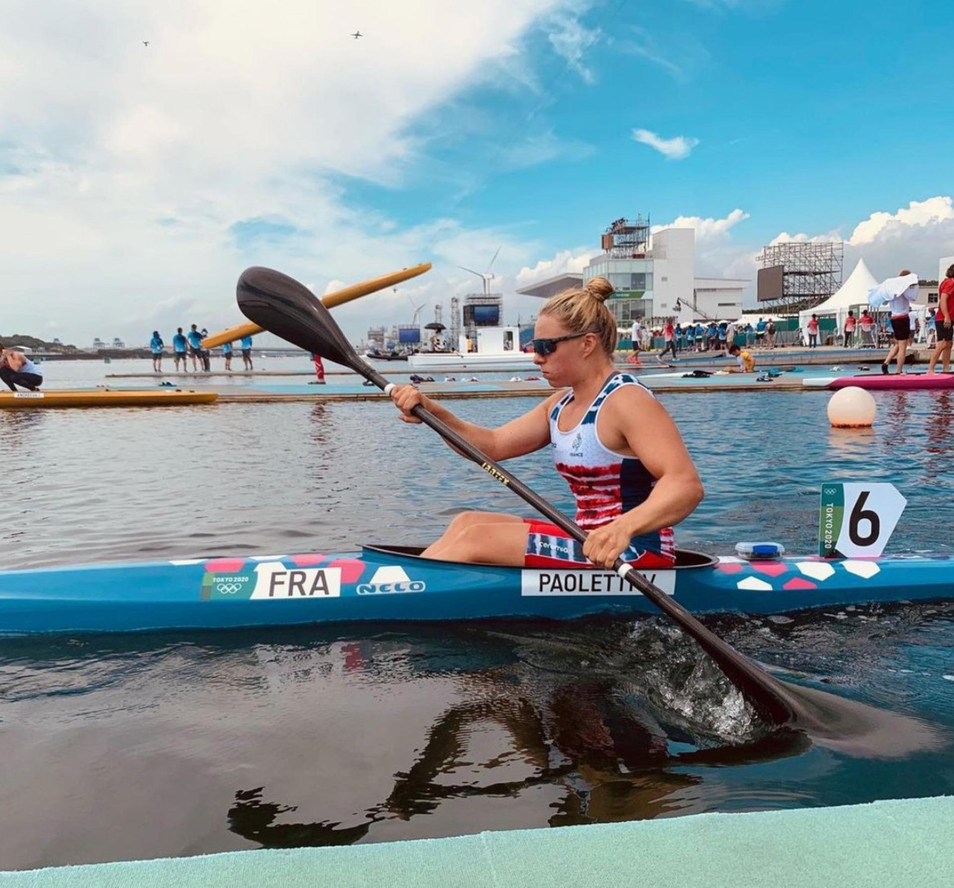 Les Jeux Olympiques s'arrêtent déjà pour Vanina Paoletti