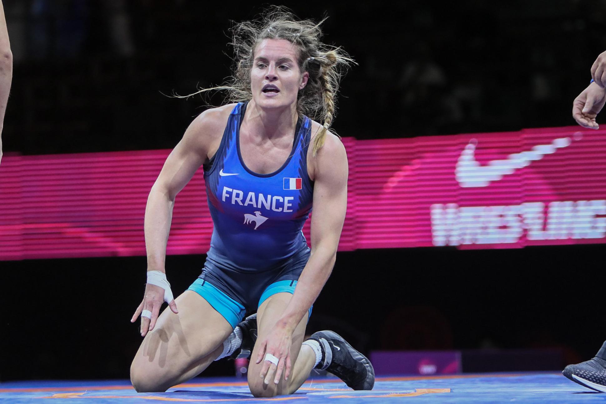 Mathilde Rivière a dû quitter les Jeux olympiques sur blessure