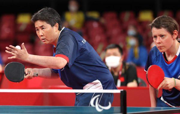 Aux jeux paralympiques de Tokyo, Thu Kamkasomphou et Anne Barnéoud ont décroché le bronze en tennis de table