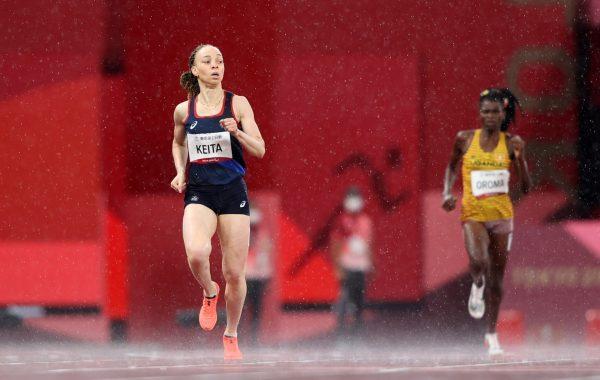Nantenin Keita en route vers un podium aux Jeux paralympiques.