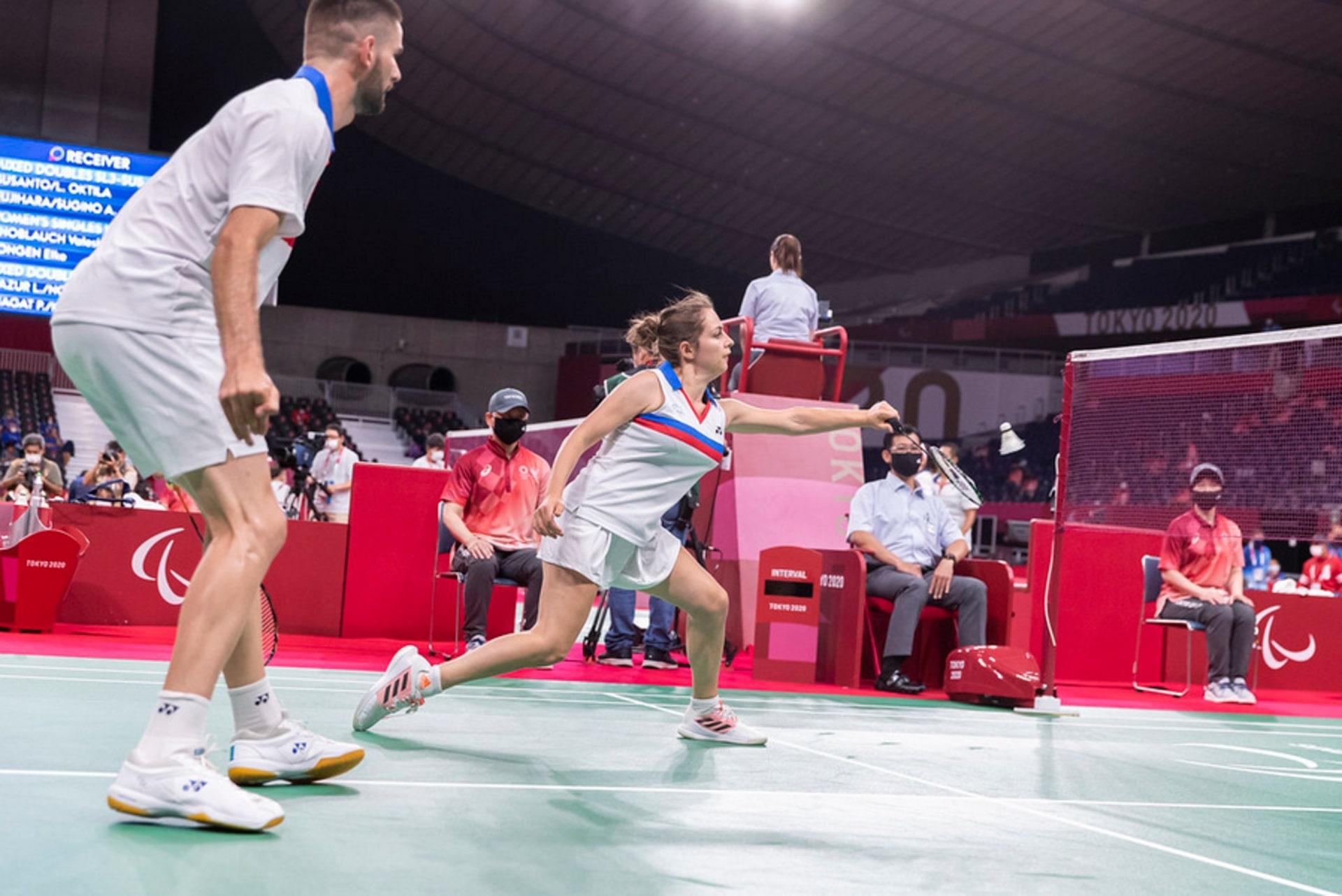 Première victorieuse pour le parabadminton français aux Jeux paralympiques.